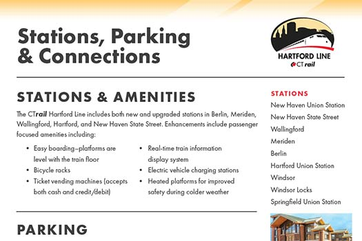 Stations, Parking & Connections